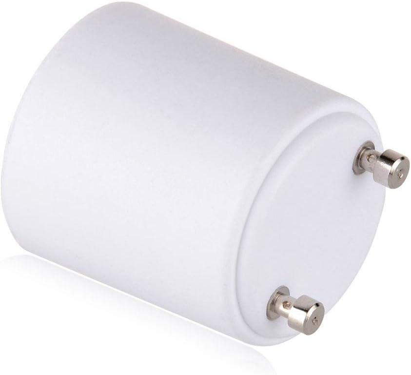 GU24 E26 /à E27 Convertisseur de support de lampe Base Adaptateur de prise dampoule Convertisseur dadaptateur de vis /à LED Pieds de lampe