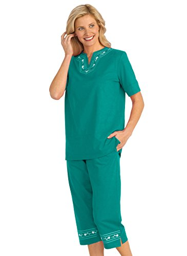 Embroidered Activewear Pant Set - 4