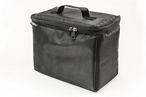 AutoExec AETote-08 Black/Grey File Tote with One Cooler and One Hanging File Holder by AutoExec (Image #1)