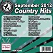 All Star Karaoke September 2012 Country Hits (ASK-1209C)