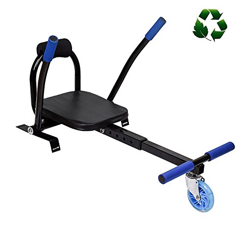 Ruilishidai Hoverboard Cart Hover Kart Attachment GoKart Style Holder Stand For 6.5