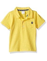 Gymboree unisex-baby Toddler Boys Yellow Slub Polo Top