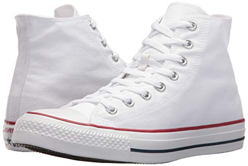 Chuck Taylor All Star Canvas High Top, Optical White, 4.5 M US by Converse (Image #6)