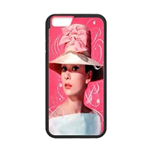 Custom High Quality WUCHAOGUI Phone case Movie & TV Super Star Audrey Hepburn Protective Case For Apple iphone 4 4s,