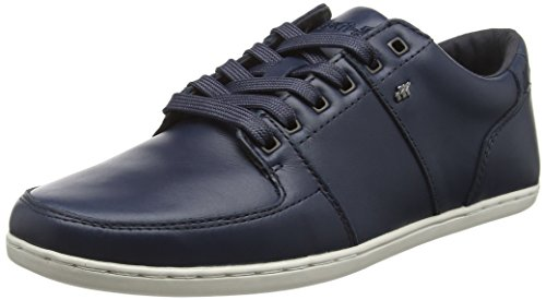 with paypal for sale store sale Boxfresh Men's Spencer ICN Lea NVY Trainers Blue (Blue) 4PWHaS5