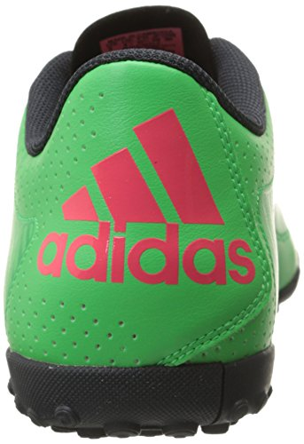 Adidas Performance X 15.3 fútbol zapatos, verde brillante S15 / S15 destello rojo / gris oscuro, 7, Flash Green S15/Flash Red S15/Dark Grey