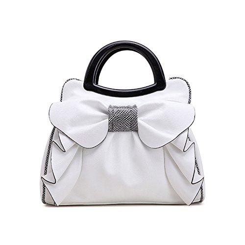 Bag Simple Woman Beautiful Messenger New Handbag Bag Sweet Pink Lady Yxlong Bag Bag Woman White 4Z8xUw5fq