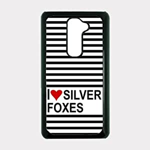 Love Heart Silver Foxes LG G2 Optimus G Case - For LG G2