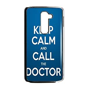 Keep Calm Call Doctor LG G2teléfono móvil funda negro £ ¨ TPU)
