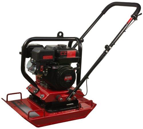 WEN 56035 Construction Zone 4,496-Pound Capacity Plate Compactor, Vibratory Asphalt/Soil Plate
