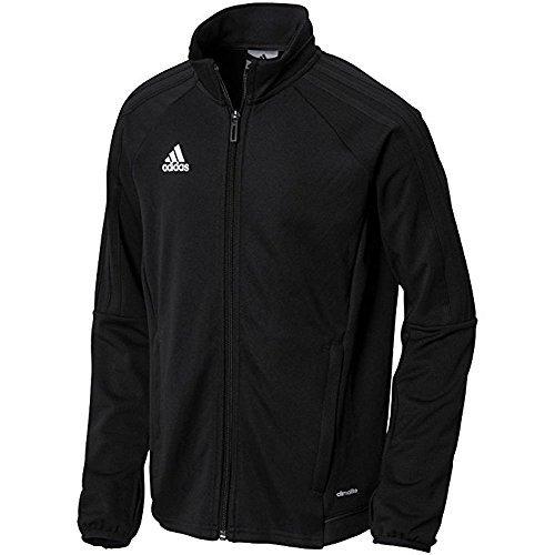adidas Youth Tiro 17 Training Jacket Black/White M