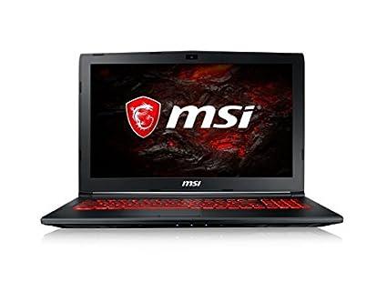 MSI GL62MVR 7RFX-1272XES - Ordenador portátil de 15.6 FHD (Kabylake i7-7700HQ+HM175, 16 GB de RAM, SSD de 256 GB, Nvidia GeForce GTX 1060, sin sistema ...