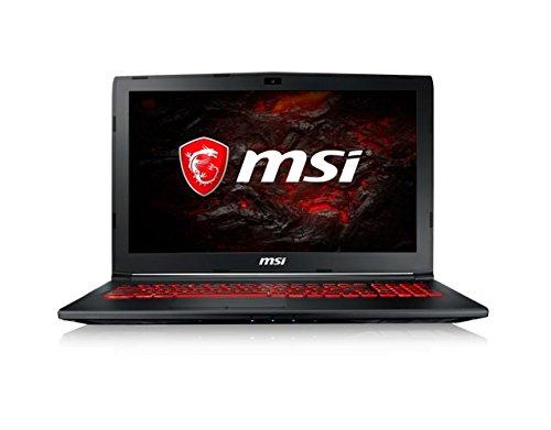 TALLA Intel Core i7|16GB RAM|1TB HDD + 256GB SSD. MSI GL62MVR 7RFX-1272XES  - Ordenador portátil de 15.6 FHD (Kabylake i7-7700HQ+HM175, 16 GB de RAM, SSD de 256 GB, Nvidia GeForce GTX 1060, sin sistema operativo) negro