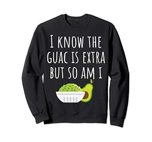 Guacamole Avocado Dip Funny Mexican Cinco De Mayo Sweatshirt ()