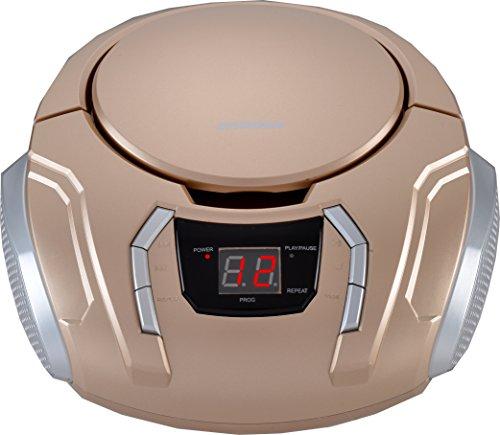 Sylvania Portable CD Boombox with AM/FM Radio