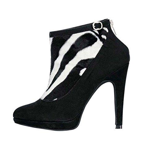 PATRIZIA DINI Damen-Schuhe Stiefelette Mehrfarbig