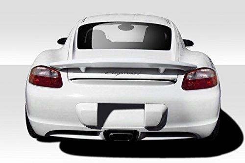 Duraflex ED-JXH-323 CS Wing Spoiler - 1 Piece Body Kit - Compatible For Porsche Cayman 2006-2010 ()