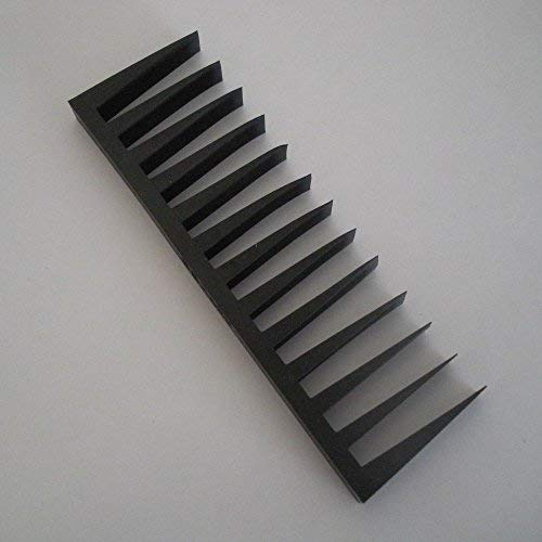 Piano tuning rubber gang mute with 13 wedges.