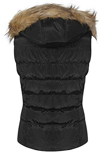 Unique Taille Femme Noir Blouson Shelikes RxnZ6zfq