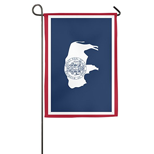 Flag Of Wyoming Polyester Home Garden Flag (Lincoln Lawyer Costume)