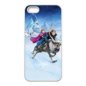 diy zhengHappy Frozen Princess Anna Kristoff Olaf Sven Cell Phone Case for iphone 5c/