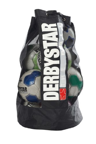 Derbystar Herren Ballsack Ca. 10 Bälle, Schwarz, Durchmesser: 45 Cm, Höhe: 95 Cm