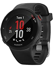 Garmin 010-N2156-02 Forerunner 45S GPS Monitor de ritmo cardíaco, reloj inteligente para correr, negro - (renovado)