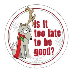 Christmas Car Magnets Is It Too Late to Be - To Merry Wishes Teacher Christmas