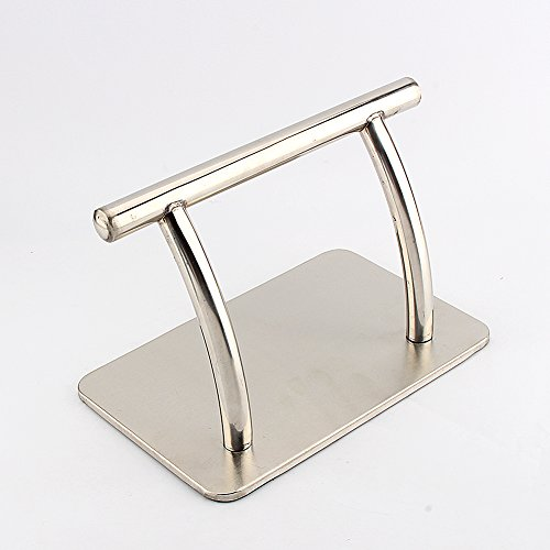 Stainless Steel Footrest, Salon Foot Rest Rack Hair Chair Salon Barbers Equipment for Tattoo Hairdressing (Pack of 5)