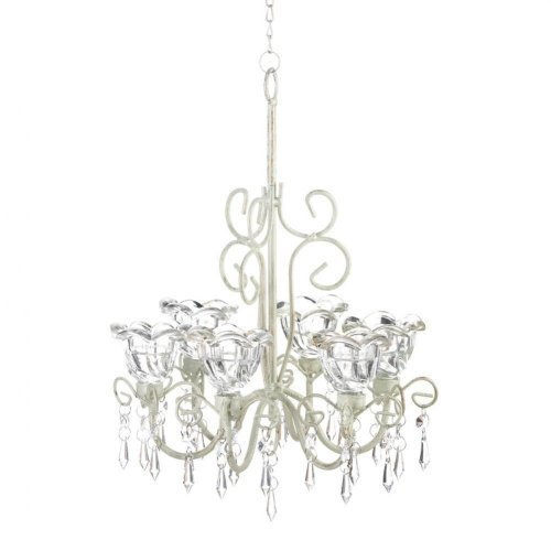 Home Locomotion Crystal Blooms Candle Chandelier - Chandelier Holder