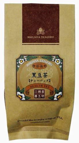 三國屋善五郎 ノンカフェイン 黒豆茶 ティーバッグ 7g×10p お茶 日本茶 健康茶