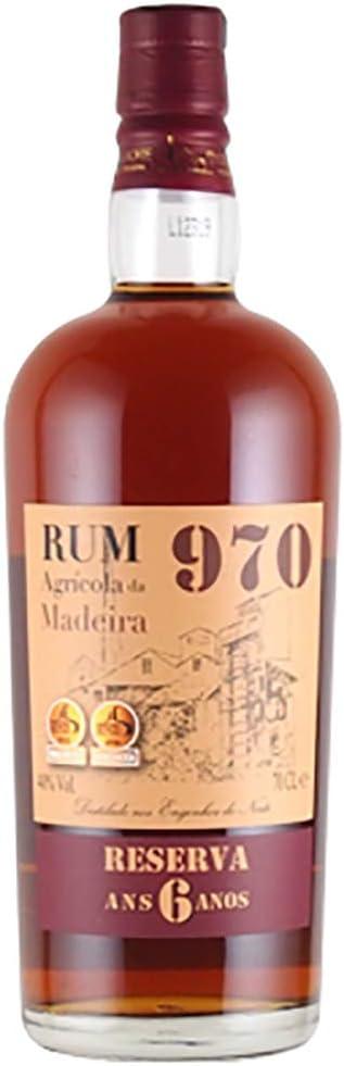Madeira Rum 970 Reserva 6 years: Amazon.es: Alimentación y ...