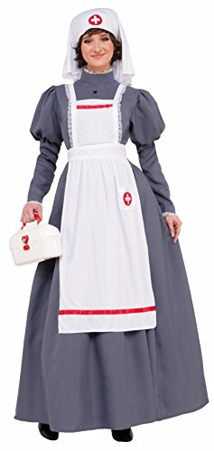 Endless Road 77823 Civil War Nurse Adult Dress Florence Nightingale Gray]()