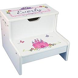 Princess Storage Step Stool