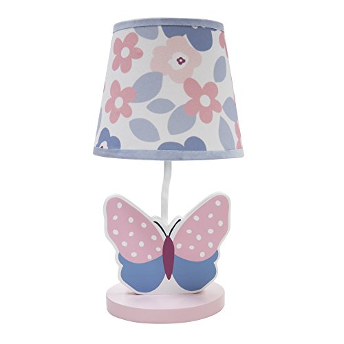 Bedtime Originals Butterfly Meadow Lamp with Shade and Bulb by Bedtime Originals
