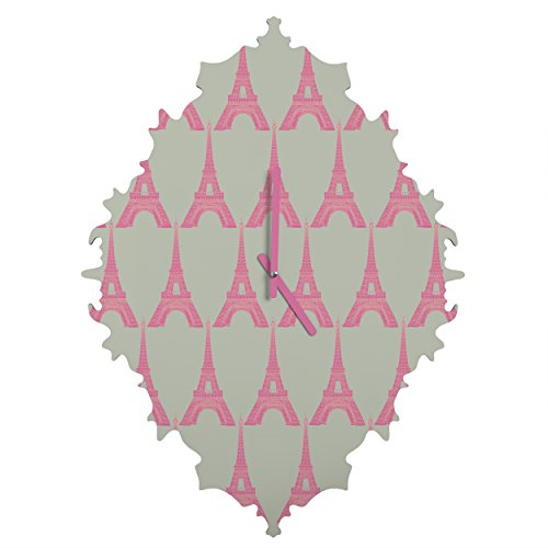 Deny Designs  Bianca Green, Oui Oui, Baroque Clock, Medium by Deny Designs