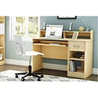 South Shore Smart Basics Small Desk Natural