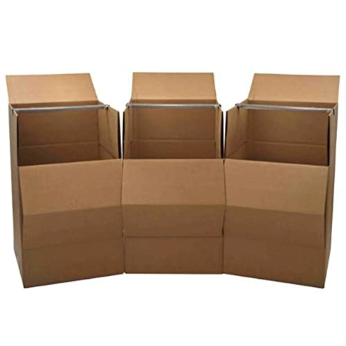 Wardrobe Moving Boxes (3 Pack)   Brand: Cheap Cheap Moving Boxes