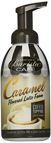 BARISTA CAFÉ CARAMEL LATTE FOAM TOPPING