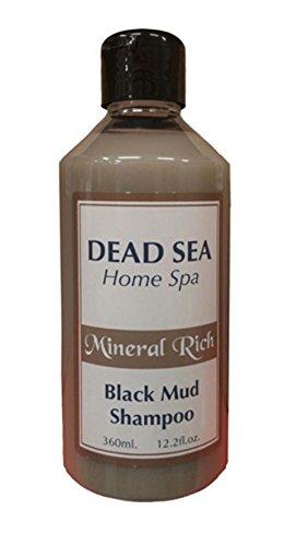 Ein Gedi Dead Sea Cosmetics Mineral Black Mud Spa Shampoo by Bethlehem Gifts TM - Sea Gedi Ein Dead