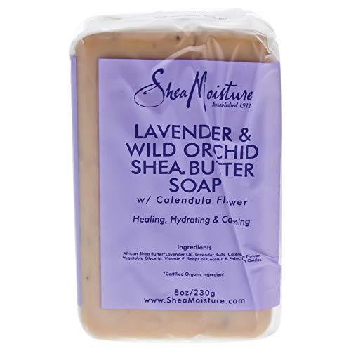 Shea Moisture Organic Lavender & Wild Orchid Shea Butter Soa
