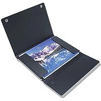 Itoya ProFolio Magnet Closure Case, 18x24 Poster Size, Black