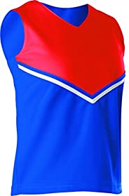 Alleson Women's Cheerleading V Shell Top with B