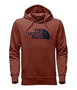 The North Face Men's Half Dome Hoodie - Ketchup Red Heather/Urban Navy - S (Past Season)