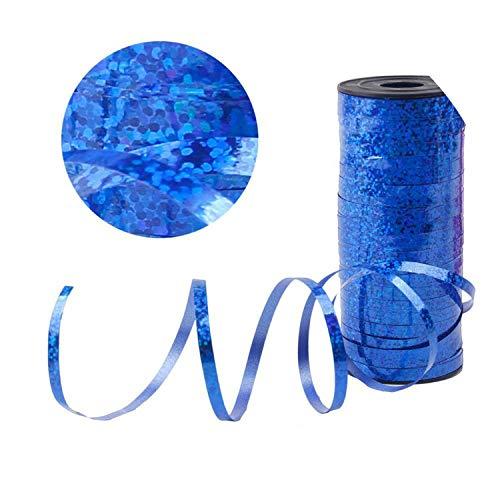 10pcs 12inch Colorful Confetti Balloon Happy Birthday Balloons Baby Shower Decorations,Royal Blue Ribbon -