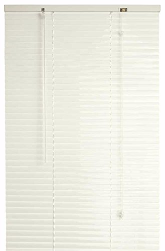 DESIGNER'S TOUCH 1-Inch Vinyl Mini Blinds, Alabaster, 27X72 In. - (1 Inch Mini Blinds)