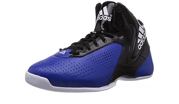 adidas - Zapatillas de Baloncesto para Hombre Blanco: Amazon.es ...
