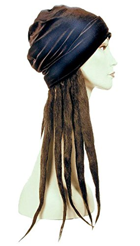 Lacey Wigs Dread Lock Hat Bargain Black