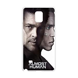 Almost Human Samsung Galaxy Note 4 Cell Phone Case White DIY GIFT pp001_8027738