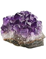 #N/A ametyst kryształ geode głębokie fioletowe kryształy geode - piękna dekoracja do domu, biura - 20-30 g